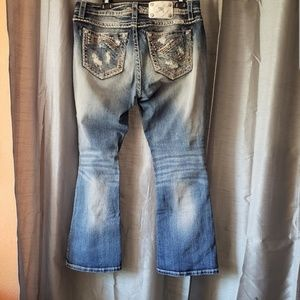 Miss Me embellished distressed Jeans size 32